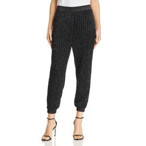 Parker Black Beaded Pants Size 00